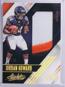 2016 Absolute Jordan Howard Rookie Patch #D06/25 #36 *65353