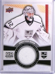 2015-16 Upper Deck Series 1 Jonathan Quick UD Game Jersey #GJJQ *54086