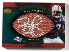 2007 Sweet Spot Pigskin Sigs Reggie Wayne auto autograph #D26/99 #SSPS-RW *39436