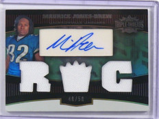2006 Topps Triple Threads Maruice Jones-Drew auto autograph jersey rc #D48/50 *3