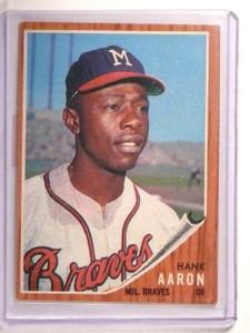 1962 Topps Hank Aaron #320 EX *45576