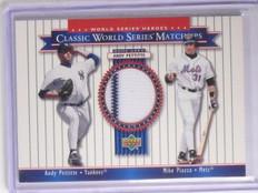 2002 Upper Deck World Series Heroes Matchups Andy Pettitte Jersey #MU00A *66192