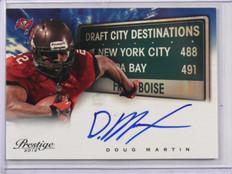 DELETE 13209 2012 Prestige Draft City Destinations Doug Martin auto autograph rookie #5 *3879