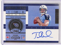 DELETE 13227 2011 Playoff Contenders Jake Locker auto autograph rc rookie #211 *37531
