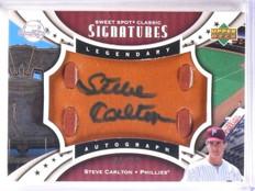 2007 Sweet Spot Classic Glove  Steve Carlton autograph auto #D46/75 *67434