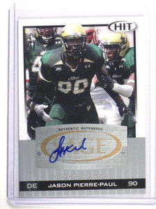 2010 Sage Hit Silver Jason Pierre-Paul auto autograph rc rookie #A90 *34660