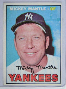 1967 Topps Mickey Mantle #150 VG+ *22518
