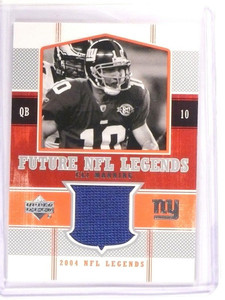 2004 Upper Deck Future NFL Legends Eli Manning rookie jersey #FL-EM *52910