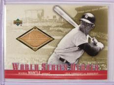 2001 Upper Deck World Series Heroes Mickey Mantle bat #WSB-MM *30591