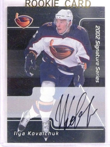 2001-02 BAP Ilya Kovalchuk 1st Signature Autograph Auto #207 *55498