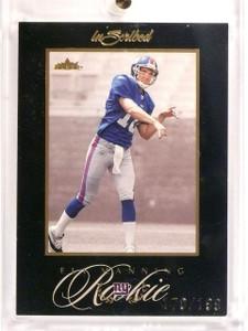 2004 Fleer Inscribed Eli Manning Black Parallel #D170/199 #76 *52839