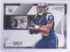 2015 Panini Clear Vision Rookie Vision Todd Gurley #RV5 *59653