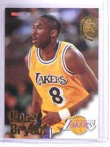 1996-97 Hoops Kobe Bryant Rookie RC #281 *62087