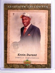 2007-08 Artifacts Kevin Durant Rookie RC #215 *62093