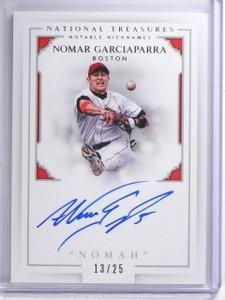 2016 National Treasures Notable Nicknames Garciaparra Autograph #D13/25 *63984