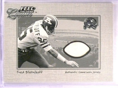 2000 Fleer Greats Of The Game Fred Biletnikoff Feel The Game Jersey *55502