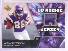 2007 Upper Deck Adrian Peterson Rookie Jersey #UDRJAP *55493
