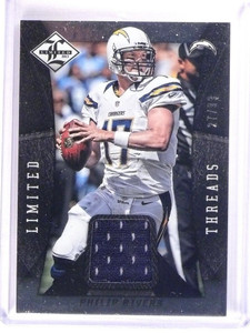 2013 Limited Threads Philip Rivers Jersey #D27/99 #77 *51224