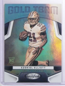 2016 Panini Certified Gold Team Ezekiell Elliott Rookie RC #14 *65528