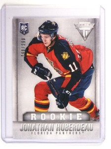 2013-14 Panini Titanium Hockey Jonathan Huberdeau Rookie RC #d298/299 *47199
