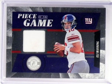 2012 Totally Certified Eli Manning  Prime Piece Game Jersey #D26/49 #34 *52706