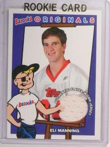2004  Topps Bazooka Eli Manning Originals Jersey #BOEM *52665