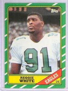 1986 Topps Reggie White Rookie RC #275 *49238