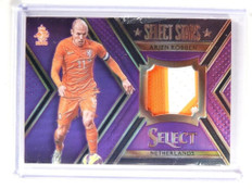 2015 Select Soccer Stars Purple Prizm Arjen Robben 3clr patch #D17/20 *52118