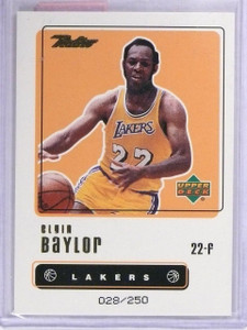 1999-00 Upper Deck Retro Gold Elgin Baylor #D028/250 #72 *62933