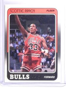 1988-89 Fleer Scottie Pippen Rookie RC #20 *64135
