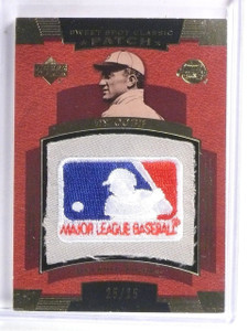 2004 UD Sweet Spot Classic Ty Cobb MLB Logo Patch #D25/25 #SSPTC *59276