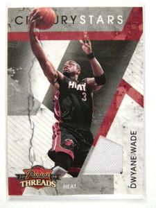 09-10 Panini Threads Century Stars Dwyane Wade jersey #D248/250 #19 *27928