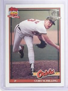 1991 Topps Desert Shield Curt Schilling #569 *64818