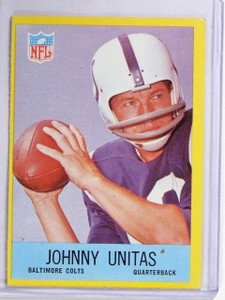 1967 Philadelphia Johnny Unitas #23 VG-EX *60651