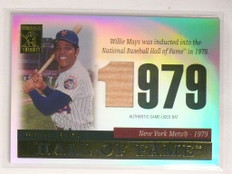 2004 Topps Tribute Hall Of Fame Willie Mays bat #TR-WM3 *55232