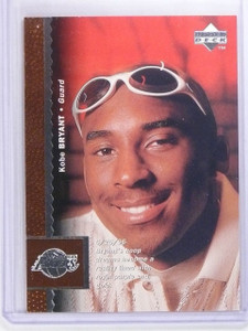 1996-97 Upper Deck Kobe Bryant Rookie RC #58 *63720