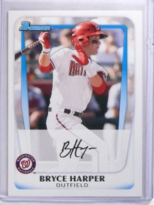 2011 Bowman Prospects Bryce Harper Rookie rc #BP1 *59660