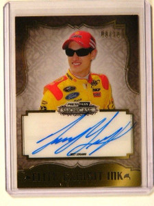 2013 Press Pass Showcase Exhibit Ink Joey Logano auto autograph #D09/10 *41281