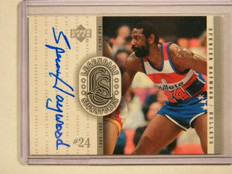 99-00 Upper Deck Legends Legendary Spencer Haywood auto autograph *41601