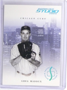 2005 Donruss Studio Proofs Platinum Greg Maddux #D07/10 #60 *59310