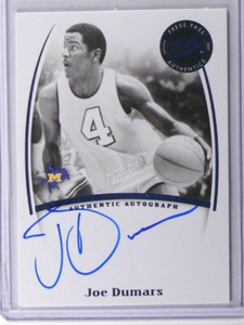 07-08 Press Pass Legends Joe Dumars auto autograph *37012