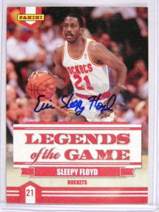 09-10 Panini Legends of Game Sleepy Floyd auto autograph *28647