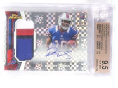 2013 Finest Rookie Xfractor RC Robert Wood Patch Autograph #D05/15 BGS 9.5 *5764