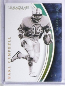 2016 Panini Immaculate Collection Gold Earl Campbell #D3/5 #16 *60479