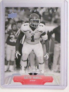 2014 Upper Deck Black & White Glossy Keith Mcgill rc rookie #D02/10 #181 *51911