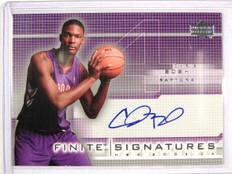 03-04 Upper Deck Finite Signatures Chris Bosh auto autograph #BO *26897