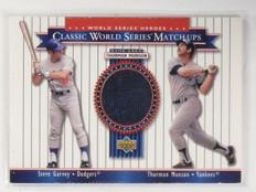 2001 Upper Deck World Series Heroes Thurman Munson Jersey #MU78 *58629