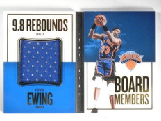 2015-16 Panini Preferred Patrick Ewing Board Members Jersey #D70/75 #15 *57452