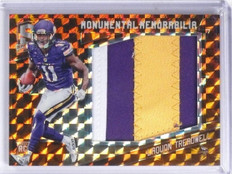 2016 Panini Spectra Monumental Orange Laquon Treadwell Rookie Patch #D2/3 *60442