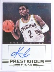 2012-13 Prestige Prestigious Picks Kyrie Irving Autograph #1 *57685